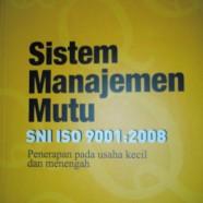Training Sistem Manajemen Mutu ISO 9001:2008
